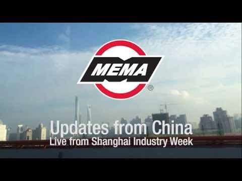 Updates from China - Live from Shanghai Industry Week