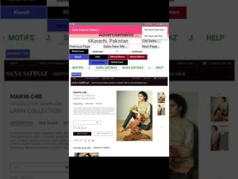 Sales Fashion Pakistan