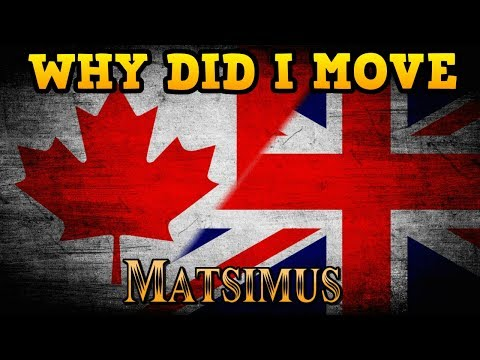Why I Moved To Canada From Britain