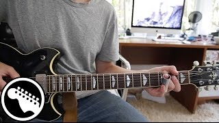 """Bad to the Bone"" by George Thorogood - Guitar Lesson (Full Song)"