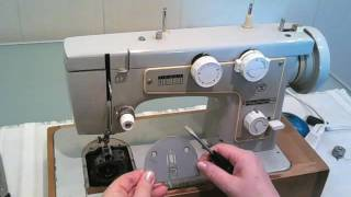Подготовка швейной машины к работе