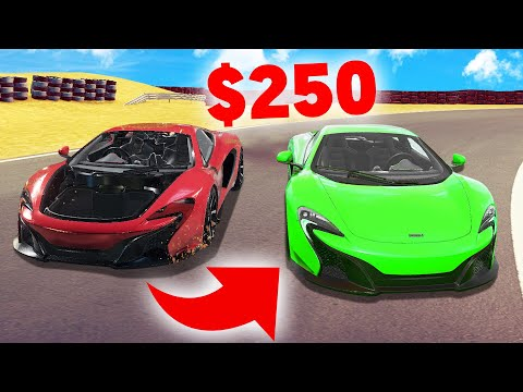 How To FIX A SUPER CAR For $250! (Car Mechanic Simulator)