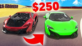 How To FIX A SUPER CAR For $250! (Car Mechanic Simulator)