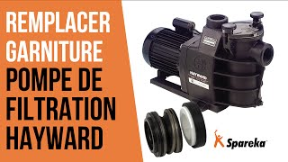 Comment changer la garniture de la pompe de filtration Hayward ?