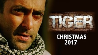Salman Khan - Katrina Kaif's Tiger Zinda Hai Poster OUT | CHRISTMAS 2017