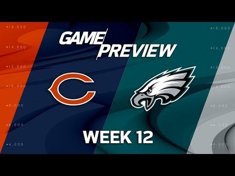 Chicago Bears vs. Philadelphia Eagles   NFL Week 12 Game Preview   NFL Playbook