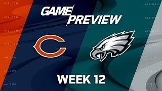 Chicago Bears vs. Philadelphia Eagles | NFL Week 12 Game Preview | NFL Playbook