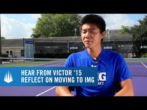 Victor Li '15 looks back on his first day at IMG Academy