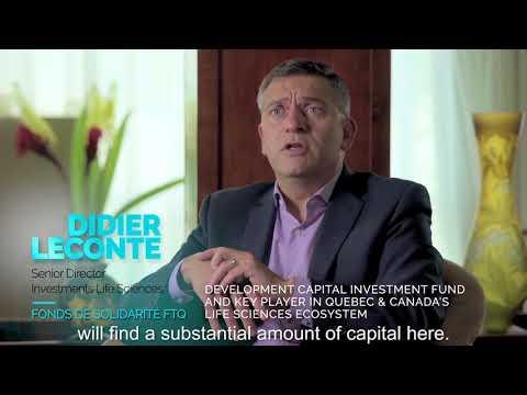 Life Sciences & Health Tech Quebec - Didier Leconte