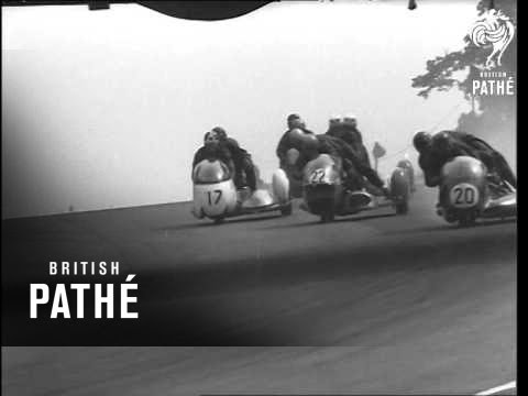 Motorcycle Sidecar Racing At Brands Hatch   (1969)