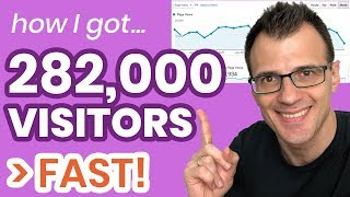 How to Get Traffic To Your Website (Fast!) 2018