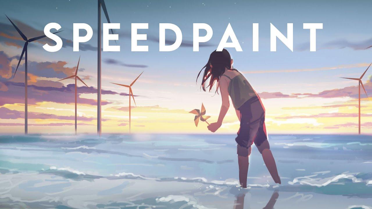 【SpeedPaint】Pinwheel