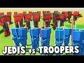 JEDI vs STORM TROOPERS! Ancient Warfare 3 New Guns Update (Ancient Warfare 3 Order 66 Jedi Battle)
