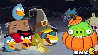Angry Birds: Angry Birds Season Halloween 3 Stars Walkthrough Level 6 - 10