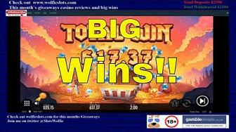 Online Slots Big Win Compilation