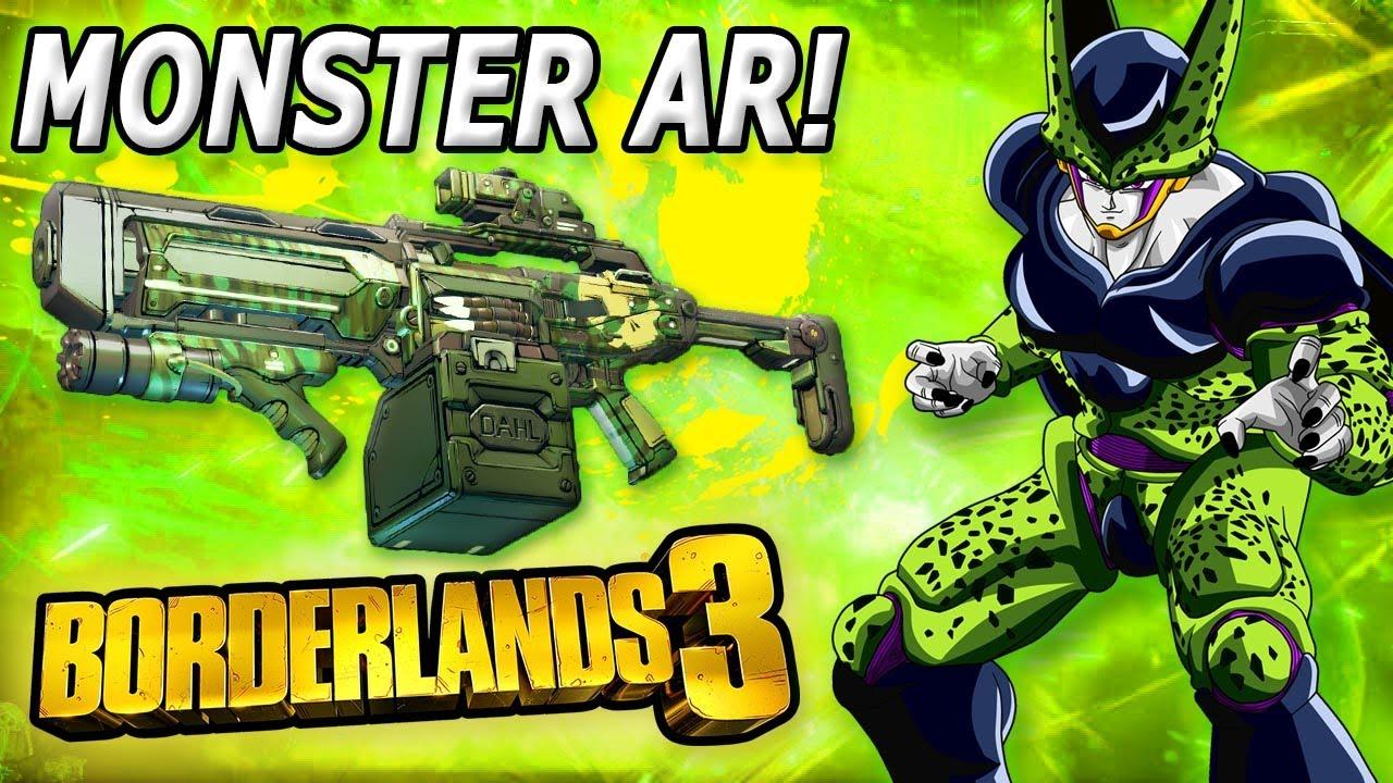 This corrosive assault rifle melts the entire game... Borderlands 3 Showcase thumbnail
