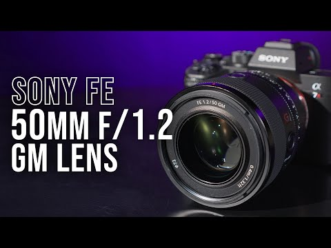 Sony Announces FE 50mm f/1.2 GM Lens; More Info at B&H Photo