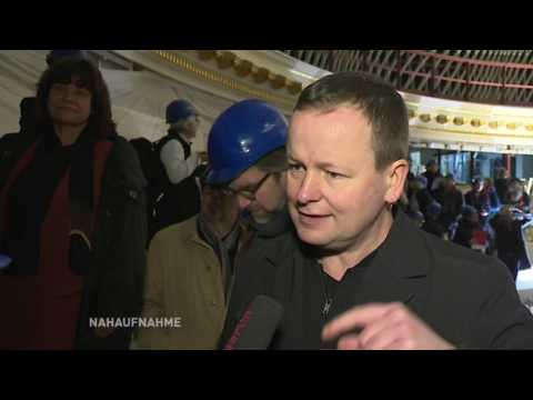 Eröffnung der Staatsoper Unter den Linden in Etappen / Nahaufnahme
