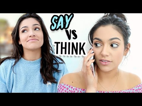 What Girls Say vs What they mean | Bethany Mota