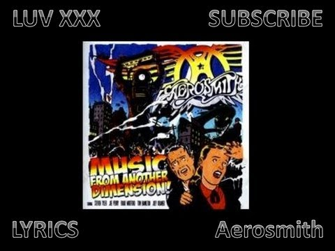 Aerosmith MFAD - Luv XXX - Lyrics