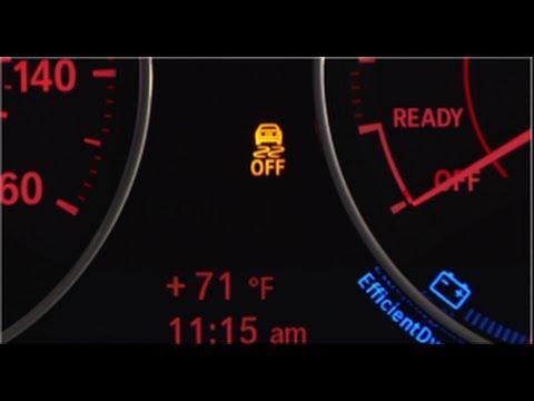 Dynamic Stability Control Off | BMW Genius How-To