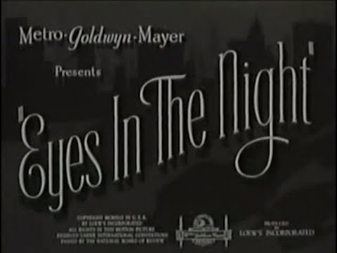 Eyes in the Night Eyes in the Night 1942 Crime Mystery YouTube