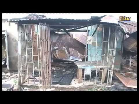 Property worth millions of naira razed by fire in Benin