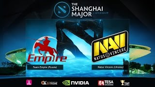 [ Dota2 ] Shanghai Major 2016 EU Qualifier : Empire vs Na'Vi - SZD (Thai Language)