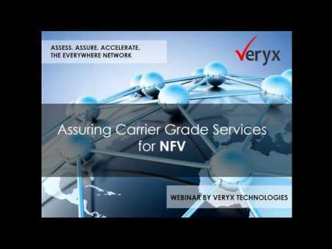 Webinar - Assuring carrier grade services in Network Function Virtualization