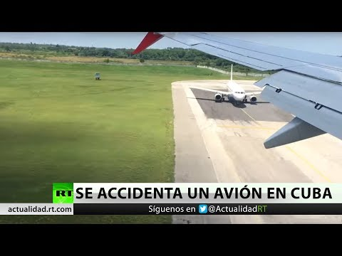 Se accidenta un Boeing 737 cerca del aeropuerto de La Habana, Cuba