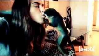 Саймири целуется
