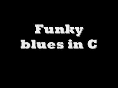 Funky blues in c [backing track]