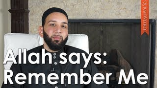 [Ramadan Prep] Remember Me; I will remember you - Omar Suleiman - Quran Weekly