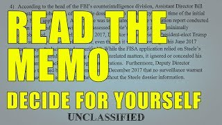 Stop Being A Sheep! Read The Memo Decide For Yourself