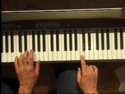 Piano Lesson How To Play The C Major Scale Left Hand Youtube