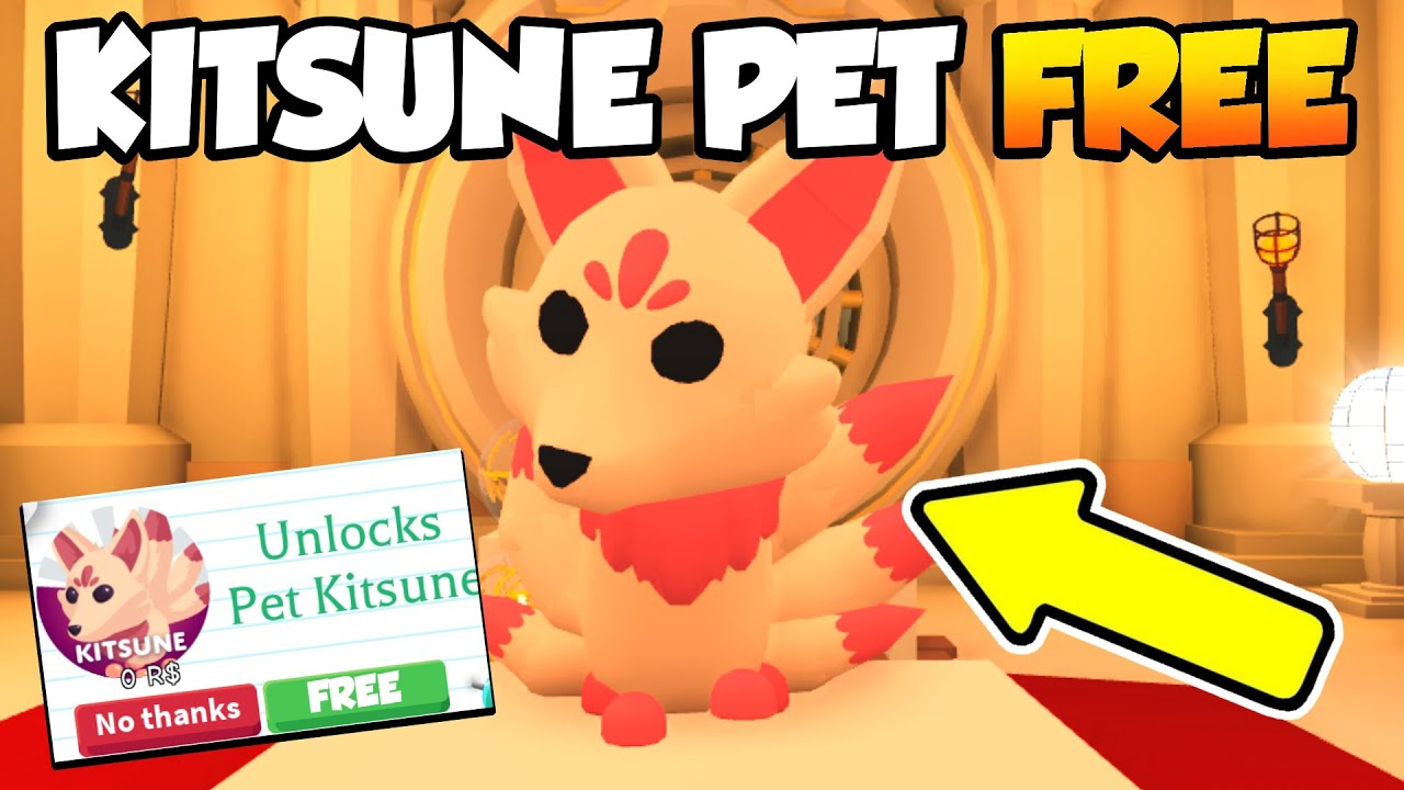How To Get The KITSUNE PET *FREE* (LEGIT) In ADOPT ME! (Roblox)