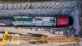 Bahntunnel Eppenberg – Von der Installation bis zum Durchschlag (Marti Gruppe)
