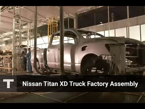 Nissan An Xd Pickup Truck Full Factory Embly