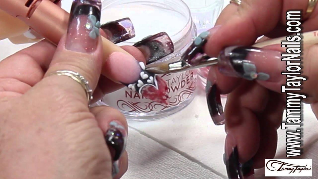 Tammy Taylor The Valentine Hearts Nail Design Youtube