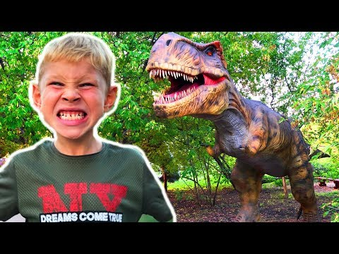 Мультфильм парк динозавров