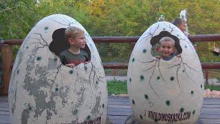 The Best of Dinosaurs Jurassic World Диноварк в Москве это Настоящие динозавры Vlog