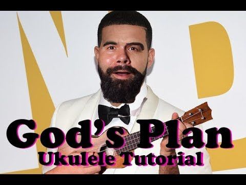 Drake - God's Plan - Super Easy Beginner Two Chord Song Ukulele Tutorial