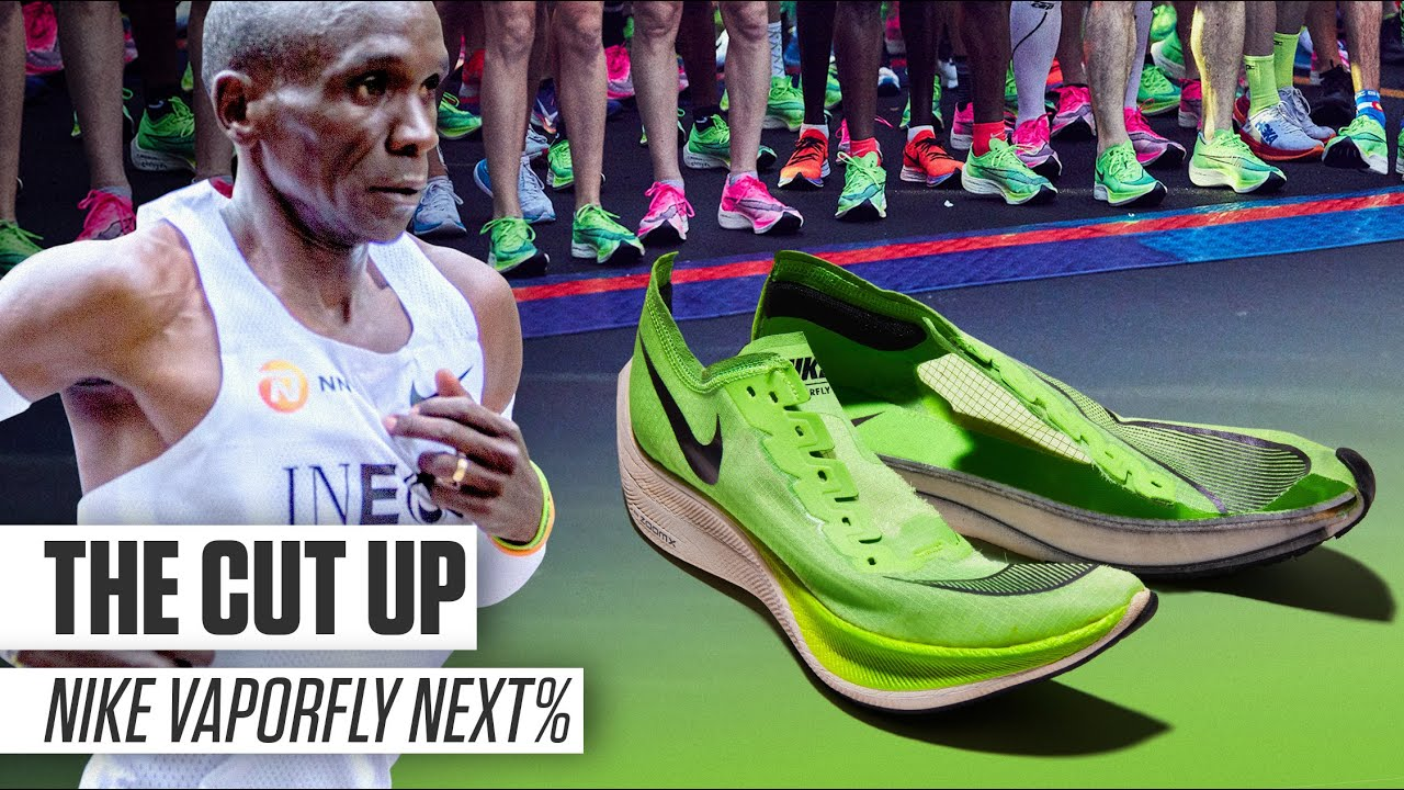 Generoso mucho multa  Why The Vaporfly Was Almost Banned | THE CUT UP | Runner's World - YouTube