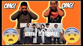 ATOUNA EL TOUFOULE Cover by SABYAN EMOTIONAL REACTION! (SO POWERFUL!)
