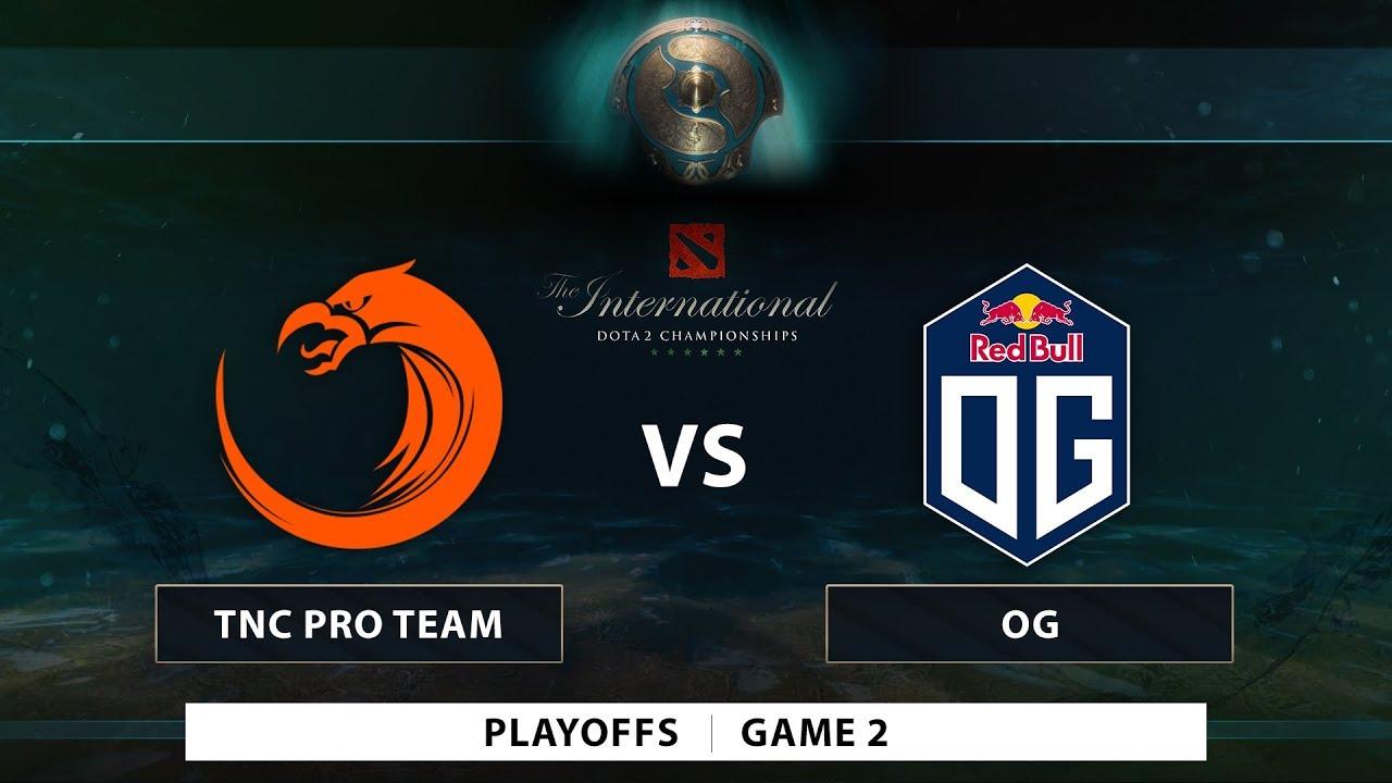 TNC Pro Team vs OG | Game 2 | Playoffs | PH Coverage