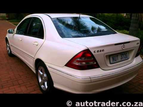 2004 mercedes benz c class c220 cdi avantgarde 4dr auto for sale on auto trader south africa. Black Bedroom Furniture Sets. Home Design Ideas