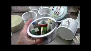 Thrift Store Redo's For Craftroom Organization Thumbnail