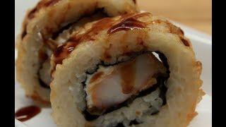 How to Make Sushi - Shrimp Double Tempura Rolls