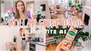 SPEED CLEAN WITH ME + DOLLAR STORE HAUL (MUST HAVE CLEANING PRODUCTS) ♡CLEANING MOTIVATION JULY 2020