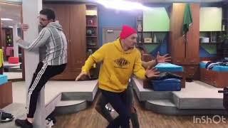 Безумные танцы от парней Поляны